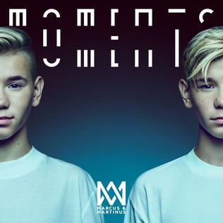 Marcus & Martinus vydali své třetí album – Moments