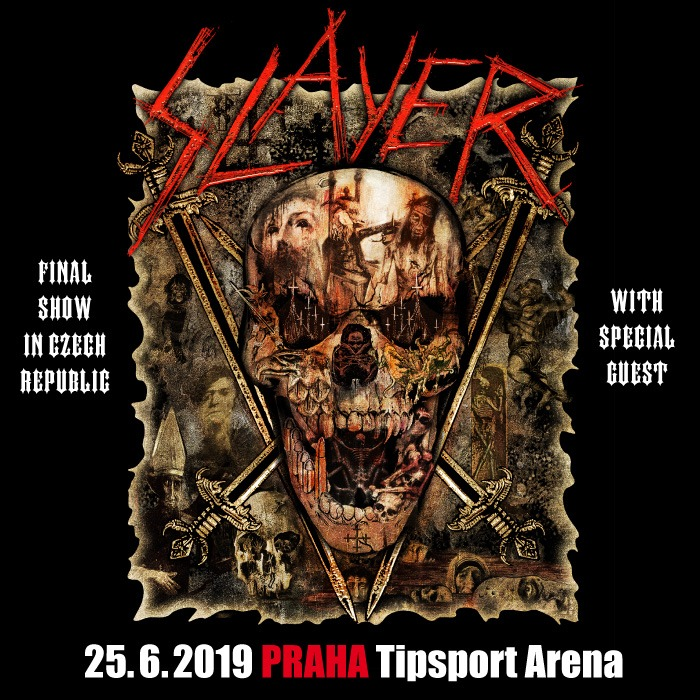 Slayer se rozloučí v rámci turné FINAL WORLD TOUR