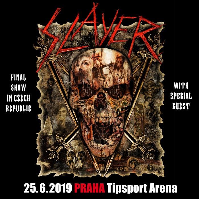 Slayer se rozloučí v rámci turné FINAL WORLD TOUR