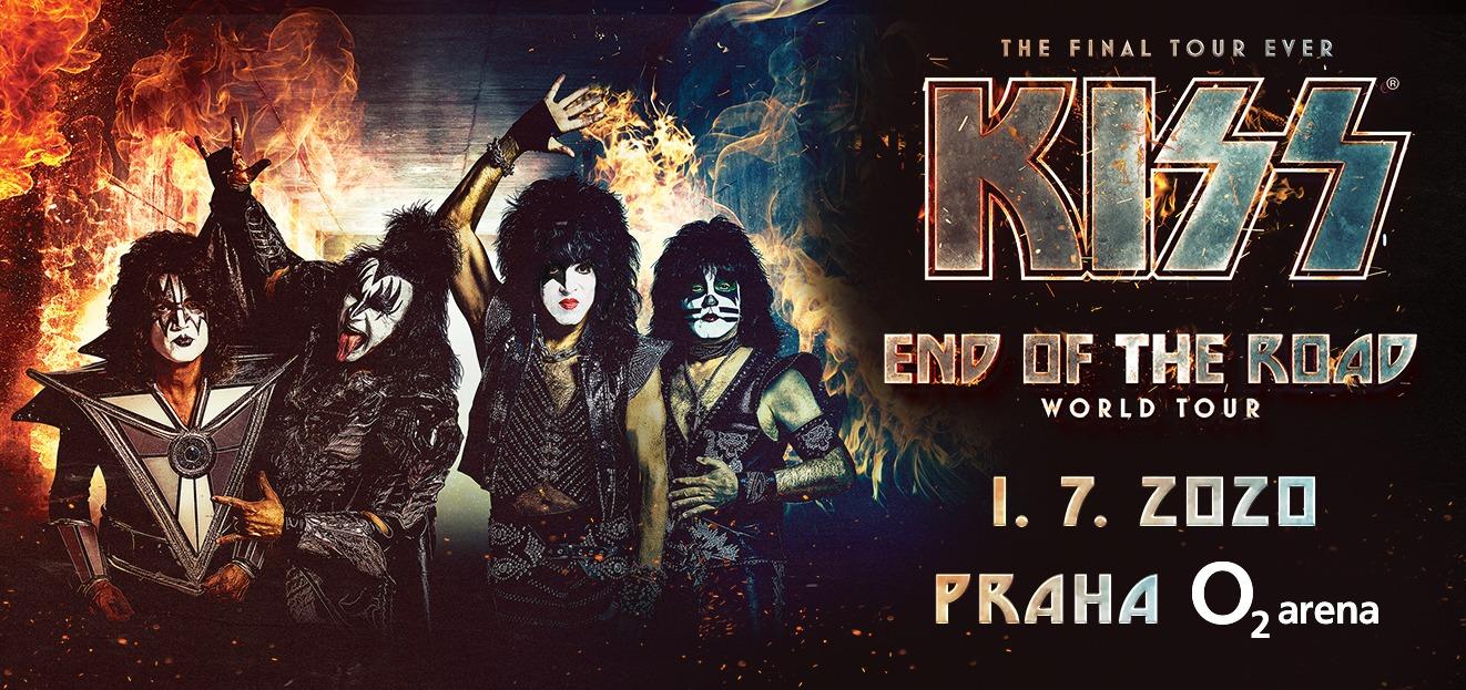 Skupina se KISS vrací do Prahy!