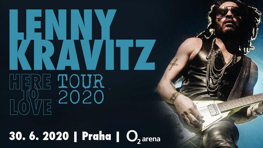 Lenny Kravitz zahraje v červnu v Praze