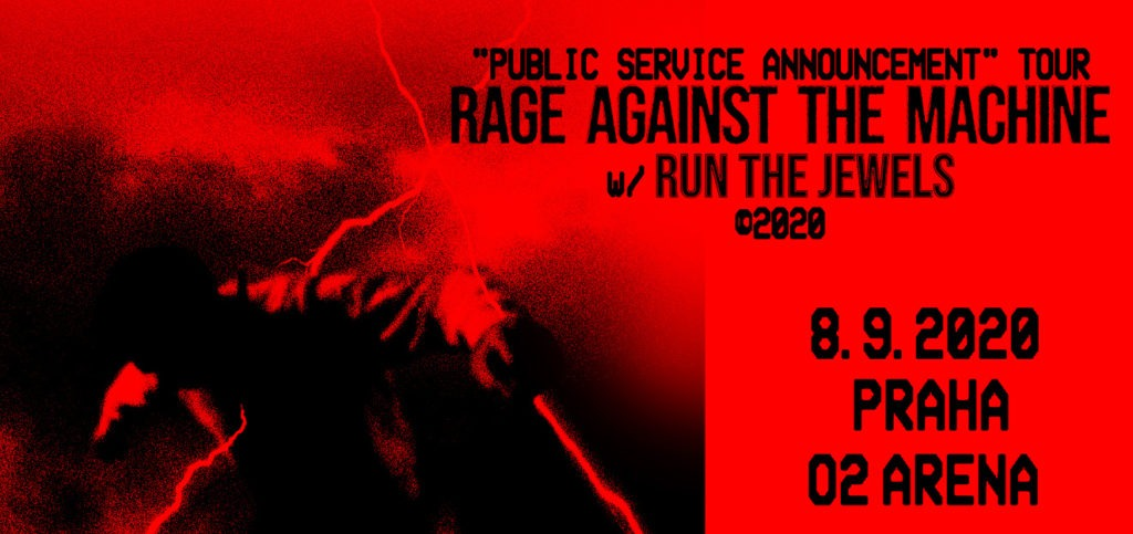 Poster Rage Against the Machine, Prague
