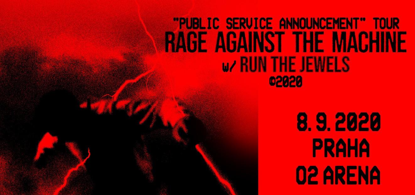 Rage Against the Machine vystoupí v Praze