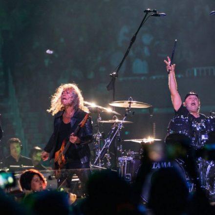 Metallica odehrála po 20 letech koncert se symfonickým orchestrem