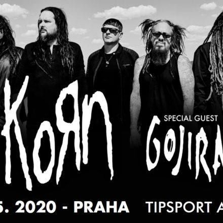 Korn přesouvá svůj koncert v Praze